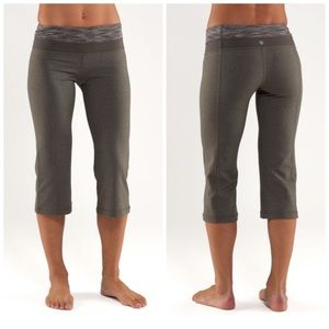 Lululemon Groove Crop Yoga Pants